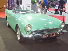 341 Sunbeam Alpine Ser. I (Prototype) (1959) - Bernard Unett (robertknight16) Tags: sunbeam sunbeamtalbot british 1950s 4ltr evenkeel rootes nec2013 xrw302 unett racing btcc