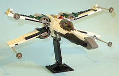 X-Wing (Librarian-Bot) Tags: lego starwars star wars xwing sith moc