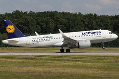 D-AINA, Lufthansa Airbus A320-200N, FRA (Andries Cafmeyer) Tags: daina lufthansa airbus a320 a320200 a320200n a320neo fra eddf frankfurt germany deutschland
