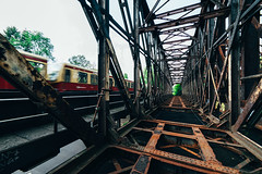 Abandoned Bridge in Berlin (Nu.Viz) Tags: a7ii architecture abandoned samyang vanishing dangerous building berlin urban urbex exploration explore 35mm decay depth perspective derelict germany zeiss german mirrorless symmetrical sony symmetry trespass train dilapidated city