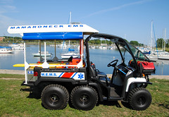 Mamaroneck EMS Photo Shot (zamboni-man) Tags: mamaroneck fire police ems truck john deere ambulance rescue emt seagrave officer pd west harrison purchase rye white plains suny
