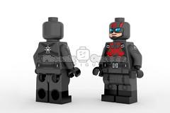 Sleeper Agent - PRESALE! (Phoenix Custom Bricks) Tags: lego custom minifigure minifig superhero villian agent captain