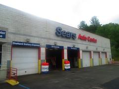 Sears Auto Center at Kmart (Random Retail) Tags: kmart store retail 2015 sidney ny searsautocenter sears