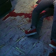 (kyle_brnicky) Tags: oven deadguy corpse fakeblood bloody blood redshoes horror
