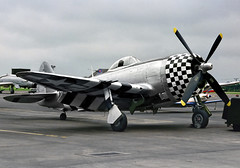 "P-47D Thunderbolt 45-49192 flown as 42-26671 ""No Guts No Glory"" of 82nd Fighter Squadron (BMrider2012 Over Half a Million views! Thankyou :-) Tags: p47d thunderbolt 4549192 flown 4226671 nogutsnoglory 82nd fighter squadron rafmildenhall"