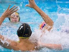 28191205 (roel.ubels) Tags: jong oranje nederland holland duitsland deutschland sport topsport waterpolo 2016 oefenwedstrijd alphen aan de rijn aquarijn