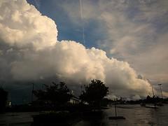 Trailing Edge of the Storm | Marietta, GA (steveartist) Tags: stormclouds contrails stevefrenkel lgescape2 pixlrexpress