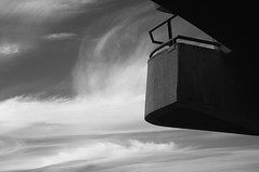 Fragment (Alexander Oleynik) Tags: fragment sky balcony bw blackandwhite monochrome minimalism surreal abstract