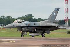 F-16C 504 @ RIAT 2016 (peter van eijsden) Tags: haf 342mira greekaf riat2016 raffairford f16c 504 f16demo