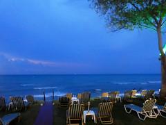 Violet Sea and Sky (RobW_) Tags: violet sea sky stormy evening freddiesbar tsilivi zakynthos greece tuesday 24aug2016 august 2016 diaryphoto mdpd2016 mdpd201608
