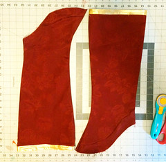 Boots6 (Kristin Brenemen) Tags: costume cosplay boot tutorial bootcovers sewing red hannah wyldkysscostumes