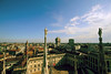 (eflon) Tags: rooftop roof view milan it milano bldgs statues duomo