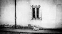 (ben.jamin8000) Tags: italy wall window texture florence black white blackandwhite
