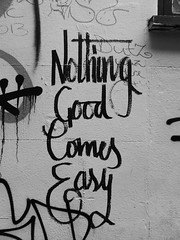 Nothing good comes easy, Bristol (duncan) Tags: bristol
