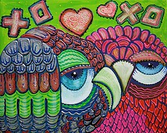 Owl Love (codedtestament777) Tags: citysights5 graffiti art beautiful love life design surreal text bright sign painting writing nature crazy weird fabulous environment cartoon animation outdoor street photo border photoborder illustration collection portrait face expression character indoor drawings drawing owl owls eyes