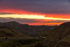South Dakota '16 (R24KBerg Photos) Tags: southdakota 2016 canon sd west america usa badlands nationalpark rockformation yellowmoundsoverlook landscape dusk sunset
