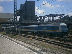 223 065 @ Mnchen Hackerbrcke (ianjpoole) Tags: alex class 223 223065 working train alx84138 mnchen hbf immenstadt