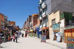 Streets of Copacabana on Lake Titicaca / Bolivia (anji) Tags: bolivia southamerica americasur latinamerica titicaca lagotiticaca laketiticaca