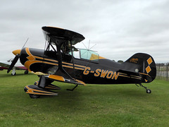 G-SWON Pitts S-1S Special cn 093 Sywell 02Sep16 (kerrydavidtaylor) Tags: pittss1