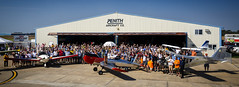 Zenith Aircraft Open Hangar Day 2016 (Notley) Tags: zenithch750cruzer zenith zenithair mexicomissouri mexicomo missouri audraincounty midwest flying flight air airplane kitplane kit aviation aircraft notley notleyhawkins 10thavenue httpwwwnotleyhawkinscom missouriphotography notleyhawkinsphotography aviationphotography arielphotography hangar hangarday september people folk folks plane stolch701 zenithstolch701 zenithch650 2016 2016zenithairopenhangarday oneweekwonder samaircraft