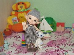 IMG_4214 (cat-soft paws) Tags:         realpuki pupu bear kidsbook house toys               elf