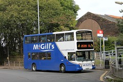 McGill's - LG02 FCF (B9932) (MSE062) Tags: bus london greenock general glasgow united double alexander dennis paisley mcgills trident decker fcf 9932 alx400 lg02 trandev lg02fcf b9932 ta256