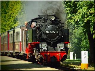 """Die Schmalspurbahn """"Molli"""" unter Dampf - The narrow-gauge railway"""