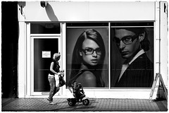 Here's Looking At You Kid. (Gary Sean Burrows.) Tags: street photography glasses sean gary savers spec bridlington burrows