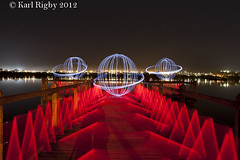 Light Painting (Karl Rigby) Tags: lightpainting australia neilhawkinspark