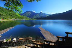 (nodie26) Tags: mountain lake water pool scenery tour lakes deep taiwan  hualien