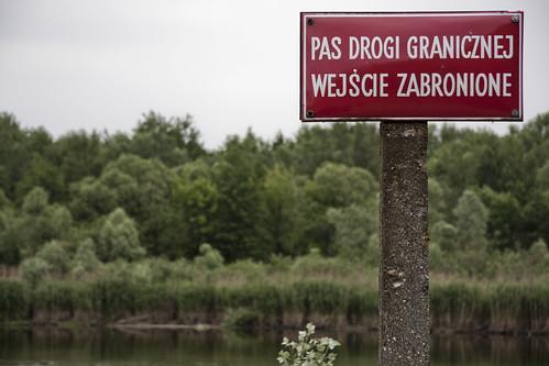 Poland-Belarus border (UNHCR Central Europe) Tags: bug river border poland belarus borderguards terespol polandbelarusborder