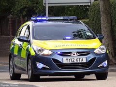 Amvale Medical Services Ltd. Hyundai i40 Estate Rapid Response Vehicle On Driver-Training Run (PFB-999) Tags: new training call estate run medical vehicle driver emergency hyundai brand ltd rapid touring dt services bluelight i40 shout grimsby response on rrv amvale yy12kta