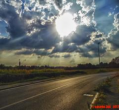 238 - 366 (casirfm) Tags: sunset sun landscapes nikon agosto land coolpix brianza 2012 project365 casirfm s6300