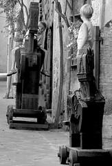 two knights (AlessiaNina) Tags: italy childhood italia time brotherhood cavalli medioevo legno orvieto infanzia fratellanza