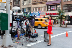 TV news at the Empire State Building shooting