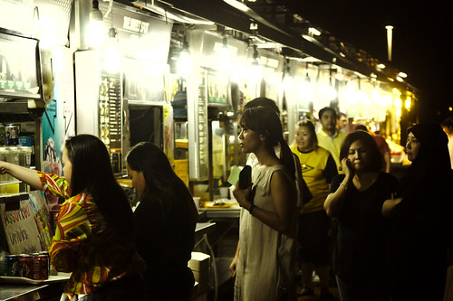 Queuing At The Stalls by Clément Jacquard, on Flickr