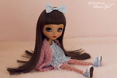 ~ Custom Pullip Nahh-ato for BabyGdragon ~ (-Poison Girl-) Tags: new pink blue brown girl closeup hair doll long dolls eyelashes handmade bald cyan wig short handpainted groove pullip straight poison bangs custom pullips poisongirl customs junplanning rewigged pullipnahhato fringr pullipcustom pullipnahhatocustom babygdragon