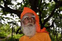 The holy man under the great mango tree of Susunia hill, Bankura,West Bengal, India. (biswarupsarkar72) Tags: portrait india holy centenarian man hill holy spring bankura susunia wisdom ages wisdom susunia