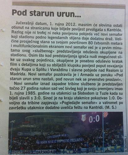 Pod starun urun... (Novi List, 02.09.2012)