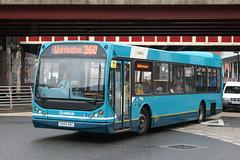 Arriva North West and Wales DAF SB220 East Lancs Myllenium (DennisDartSLF) Tags: bus warrington daf arriva eastlancs 2454 sb220 myllenium arrivanorthwestandwales y454kbu