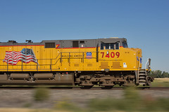 Building America (Trainboy03) Tags: up pacific ks union kansas 7409