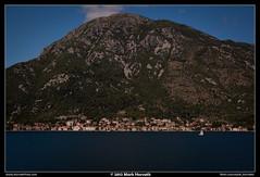 Golfo di Cattaro (Mark Horvath) Tags: trip travel sea summer vacation panorama mountain mountains canon bay europe mediterranean view land balkans peninsula adriatic montenegro adria balkan southerneurope jadran perast crnagora 50d perasto