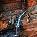 Caminhando entre os paredões do Weano Gorge