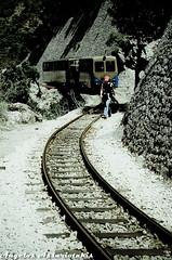 Οδοντωτός/Kalavrita rack train (angelobike) Tags: train greece rails eikones elladas τραίνο racktrain οδοντωτόσ καλάβρυτα