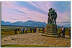 Commando Memorial (Muzammil (Moz)) Tags: scotland commandomemorial inverness moz speanbridge muzammilhussain