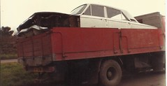 FORD CORSAIR,helston 1984. (RUSTDREAMER.) Tags: ford cornwall corsair scrapyard wreck scrap helston 151 fordcorsair rustdreamer waf752j