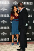 Salma Hayek and Oliver Stone Savages photocall held at The Mandarin Oriental London, England