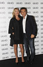 Kate Moss and Marco Marchi At the photocall for Italian fashion label Liu Jo during Milan Fashion Week Milan, Italy