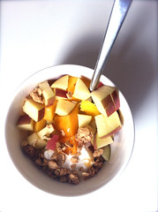 06 yum breakfast (Stephanie M. Casey) Tags: breakfast greek yogurt fage