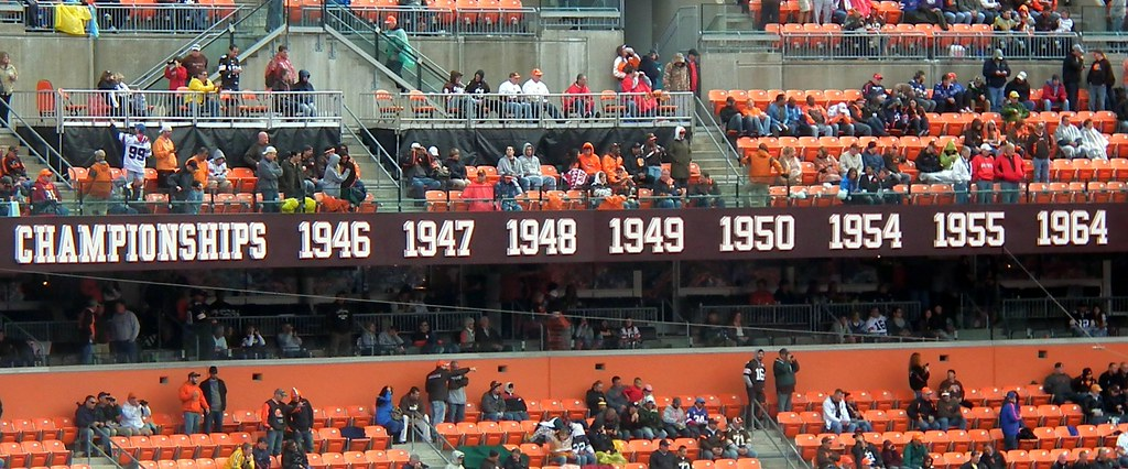 Cleveland Browns Championships by EDrost88, on Flickr